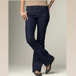 Talbots Heritage boot 10in rise jeans